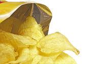 Bag of Potato Chips — Stock Photo