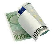 One banknote 100 euro — Stock Photo