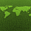 Royalty-Free Stock Photo: Grass World