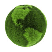 Grass Earth - Americas — Stock Photo