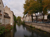 Chartres river — Stock Photo
