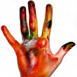 Royalty-Free Stock Photo: Painting hands