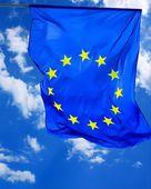 флаг европейского союза — Стоковое фото
