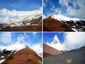 Four mountains — Stock Photo