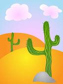 Desert — Stock Vector