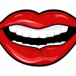 Vector de stock : Lips