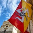 Foto Stock: Flag of Sicily