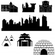 Stock Vector: Vector houses