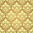 Royalty-Free Stock Vector Image: Seamless damask wallpaper
