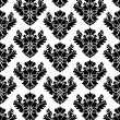 Royalty-Free Stock Vektorfiler: Seamless damask wallpaper