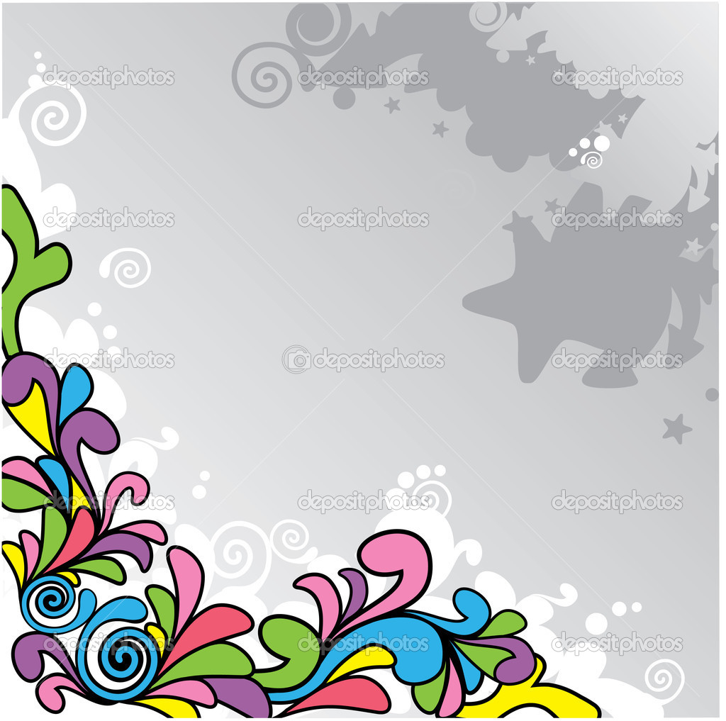 Vector abstract cartoon background — Stock Vector #2802999