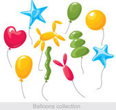 Balloons-collectie — Stockvector