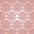 Seamless damask pattern — Image vectorielle