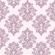 Seamless damask wallpaper - Stock vektor