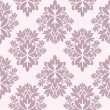 Seamless damask wallpaper — Imagen vectorial