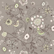 Royalty-Free Stock Vector Image: Seamless vector floral background