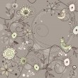 Royalty-Free Stock Imagen vectorial: Cute floral frame