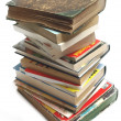 A stack of old vintage and modern books — Stock Photo #2797380