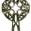 Celtic Cross with clipping path - Stock Photo