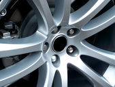 Alloy Wheel — Stock Photo