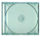 Transparent CD Jewel Case — Стоковое фото