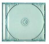 Transparent CD Jewel Case — Stock Photo