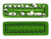 Contraception Birth Control Pill — Stock Photo