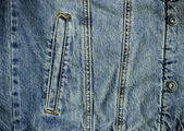Denin Pocket and Metal Stud Details — Stock Photo