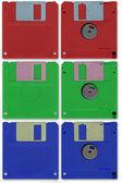 Floppy-disk — Stockfoto