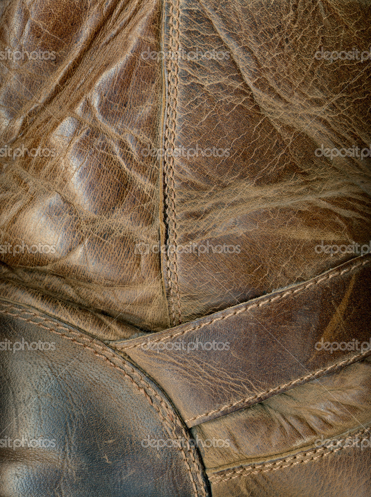 Old Leather Boot Texture — Stock Photo #2797456