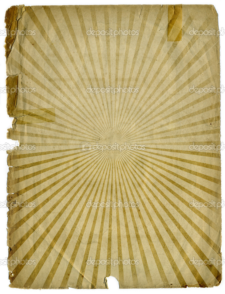 Sunbeam Grunge Paper Background Texture which is very useful for design purposes and can be used in many applications — Stock Photo #2797498