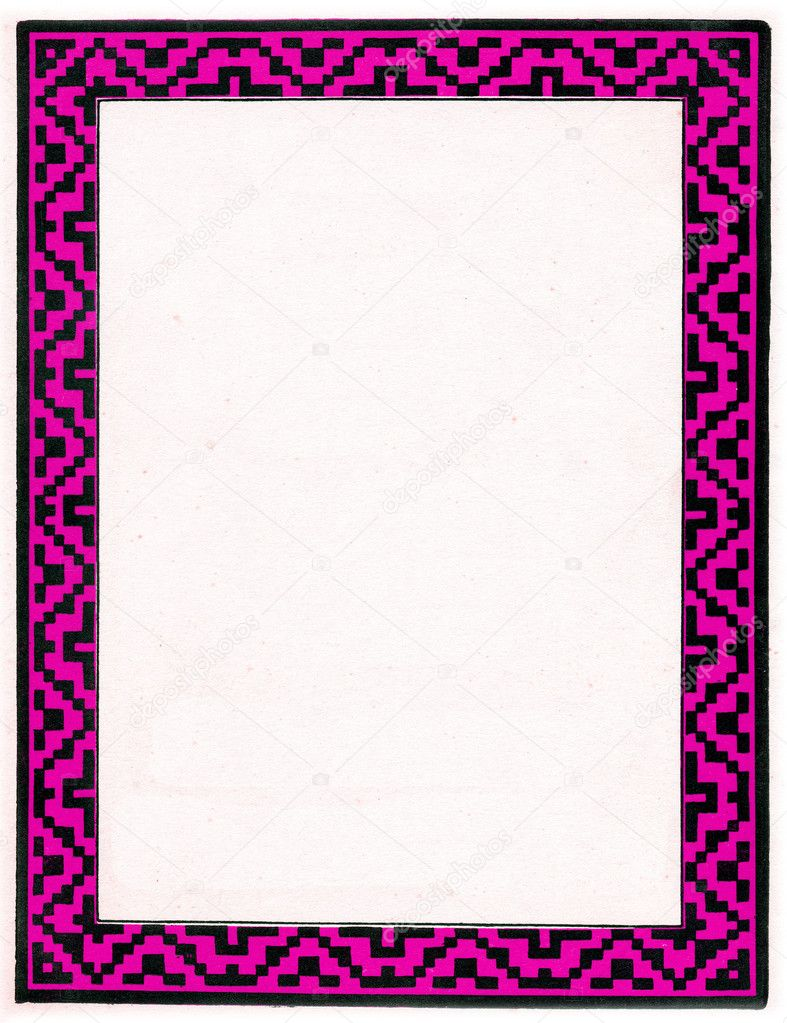 现代时尚风格边框设计针对纸张纹理,是非常有用的设计目的和可以用在