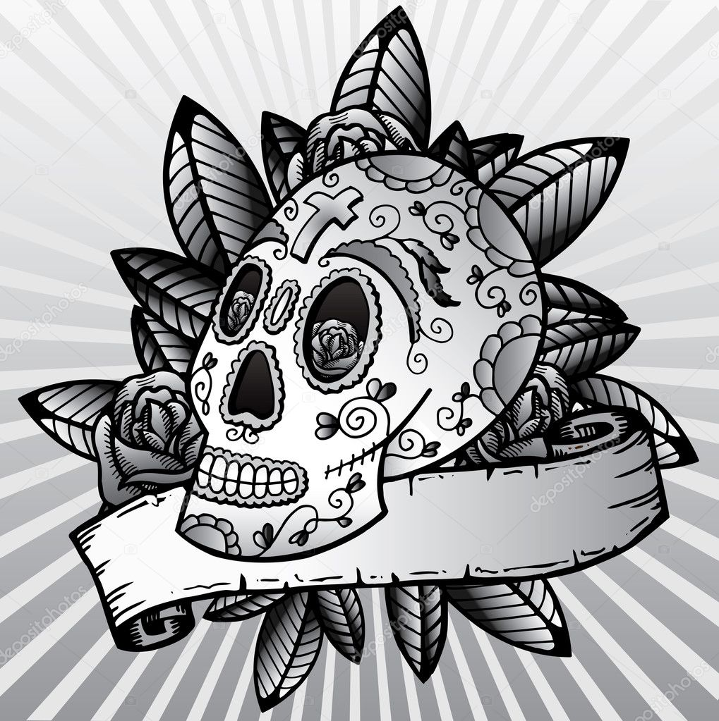 Day Of The Dead Printable Skeleton - Login