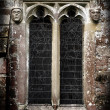 Gothic Stone Faces — Stock Photo #2800852