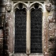 Gothic Stone Faces - Stock Photo
