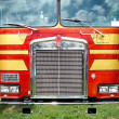 Truck Front Detail - Stock Photo