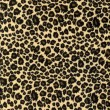 Leopard print fabric texture — Stock Photo