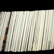Stock Photo: Blank Magazine Spines