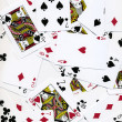Playing Cards Background Design - Stock Photo