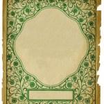 Vintage Decorative Background Design on — Stock Photo