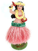 Colorful Hawaiian doll — Stock Photo