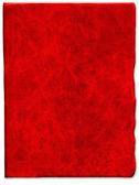 Textura de couro riscado vermelho vintage — Fotografia Stock