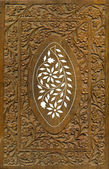 Wood Carving Pattern Design Elements — Stock Photo