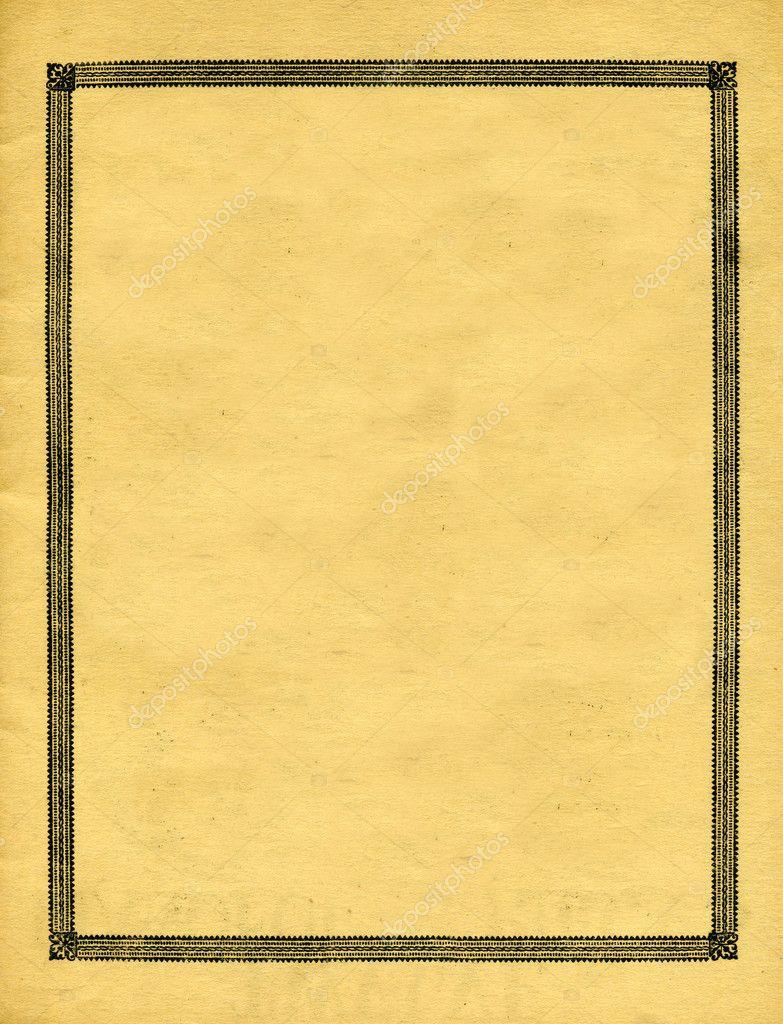 复古装饰边框设计