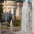 Stock Photo: Fountain in Brest, Belarus