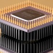Processor chip — Stock Photo #2809417