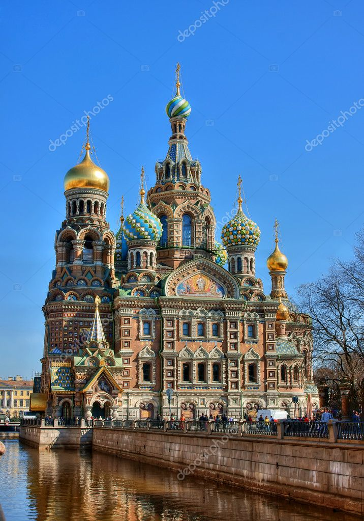 The temple, is photographed in Russia, Saint Petersburg — Stock Photo #2811880