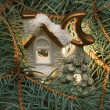Christmas small house — Stock Photo #2828828