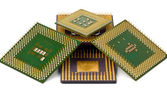 Old processors — Stock Photo