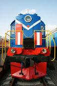 La vecchia locomotiva — Foto Stock